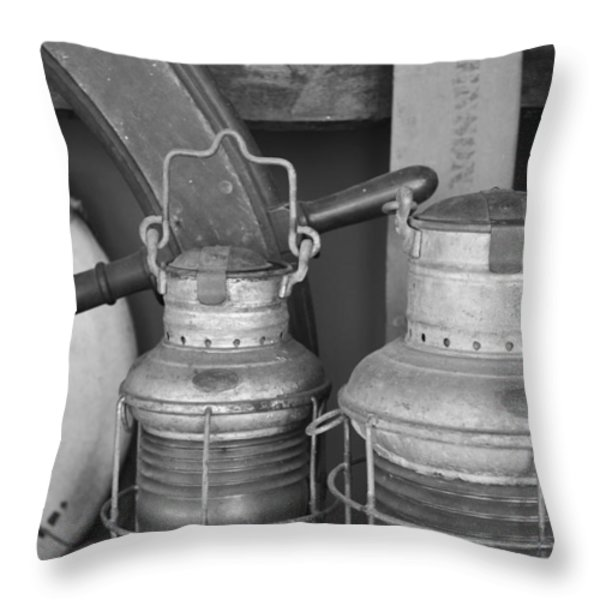 Salty Memories Throw Pillow by Bruce Gourley