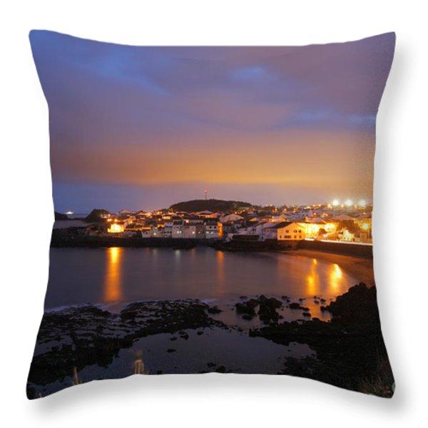 Sao Roque - Azores Throw Pillow by Gaspar Avila