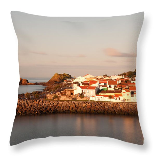 Sao Roque at sunrise Throw Pillow by Gaspar Avila