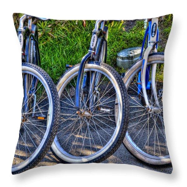 Schwinns Throw Pillow by Paul Wear
