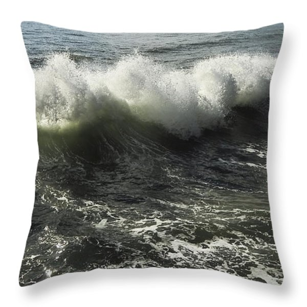 Sea Waves1 Throw Pillow by Svetlana Sewell
