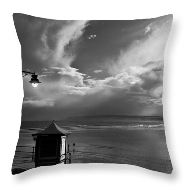 Seafront Throw Pillow by Svetlana Sewell