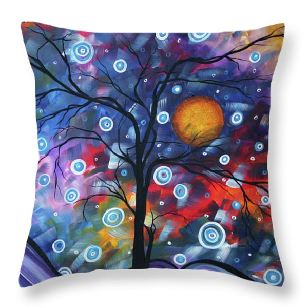 See The Beauty Throw Pillow by Megan Duncanson