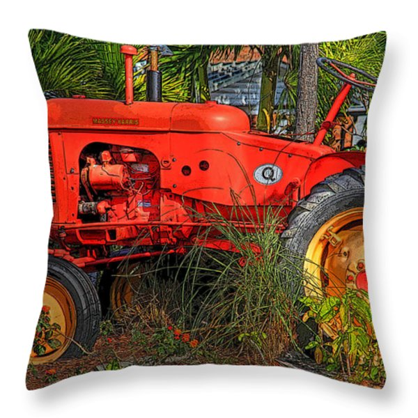 Semi Retired Throw Pillow by HH Photography