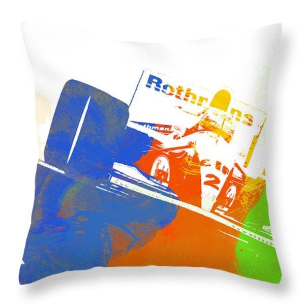 Senna Throw Pillow by Naxart Studio