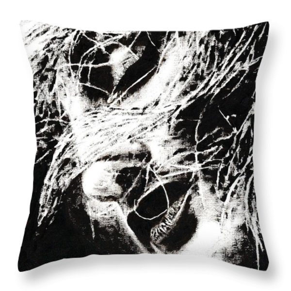 Sensations Throw Pillow by Richard Young
