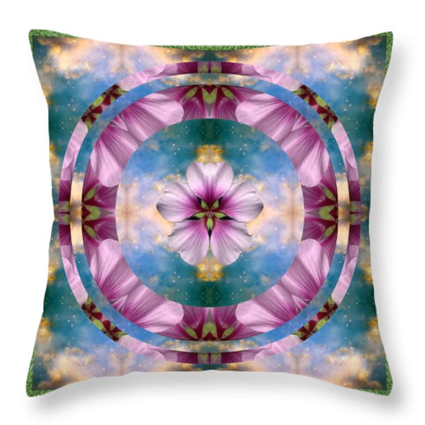 Serenity Throw Pillow by Bell And Todd