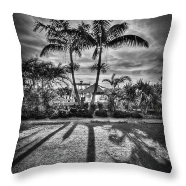 Shadow Waltz Throw Pillow by Evelina Kremsdorf