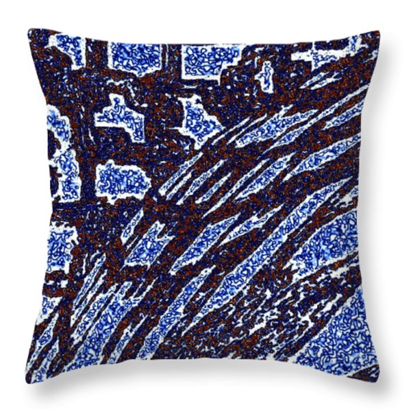 Shards And Pieces Throw Pillow by Will Borden
