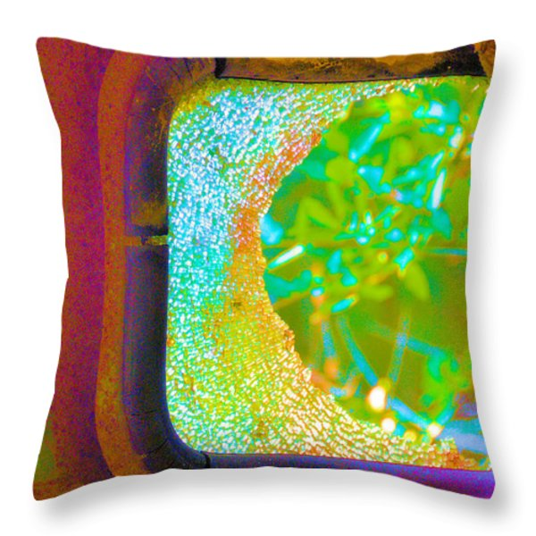 Shattered Dreams Throw Pillow by Jan Amiss Photography