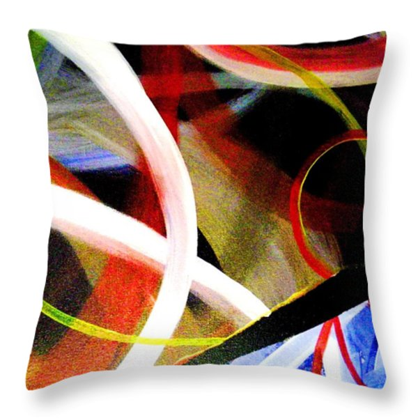 Shattered Part III Throw Pillow by Eric Moore