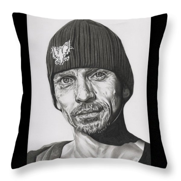 Skinny Pete  Breaking Bad Throw Pillow by Fred Larucci