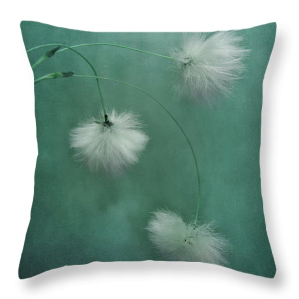 Sleepy Heads Throw Pillow by Priska Wettstein