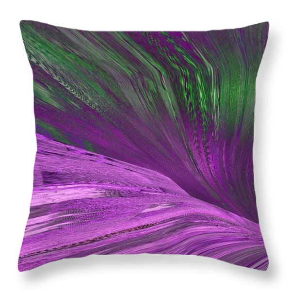 Slippery Slope Throw Pillow by Tim Allen