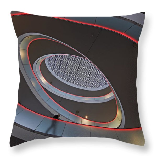Sma Solar Technology Is Partially Throw Pillow by Michael Melford