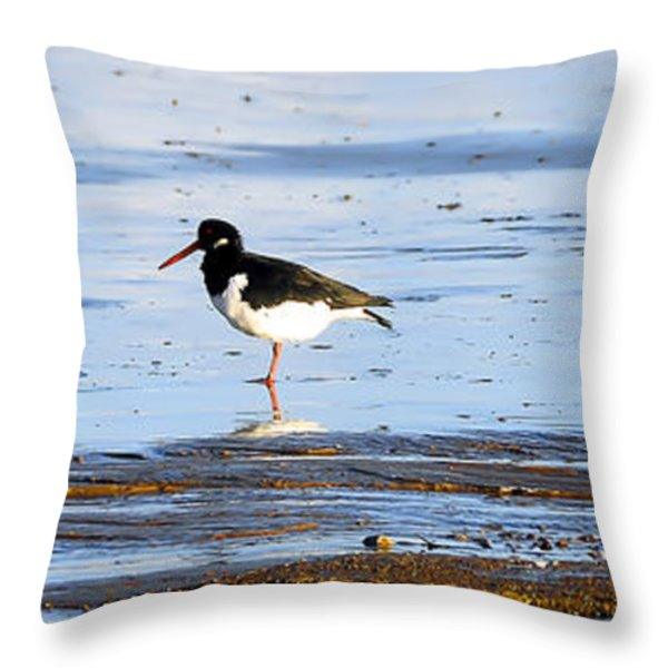 Small Bird Throw Pillow by Svetlana Sewell