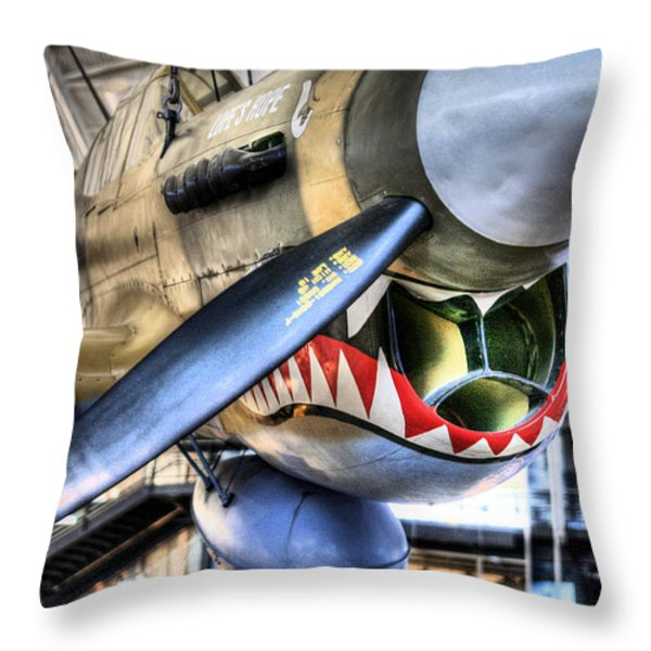 Smithsonian Air and Space Throw Pillow by JC Findley