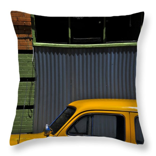 Smooth Operator Throw Pillow by Skip Hunt