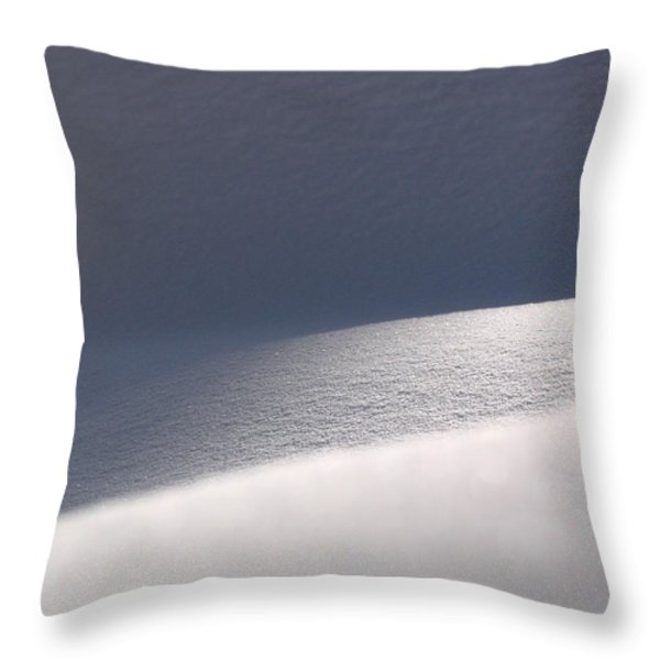 Snow Dreams Throw Pillow by Juergen Roth