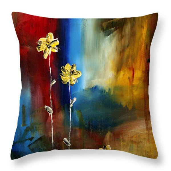 Soft Touch Throw Pillow by Megan Duncanson