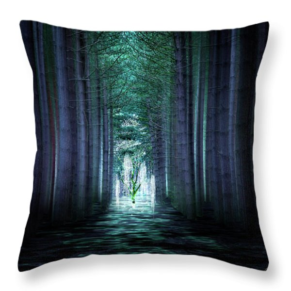 Soul Tree Throw Pillow by Svetlana Sewell