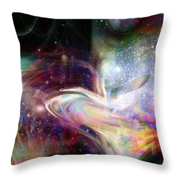 Soul Vibes Throw Pillow by Linda Sannuti