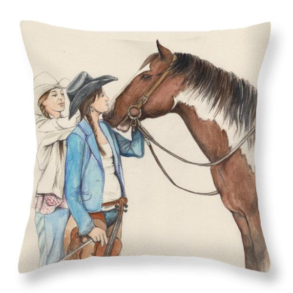 Southern Style Throw Pillow by Morgan Fitzsimons