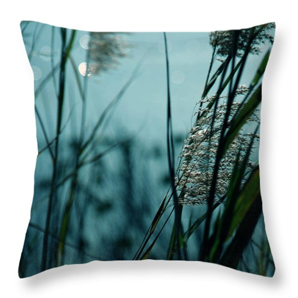 Sparkling Lights Throw Pillow by Susanne Van Hulst