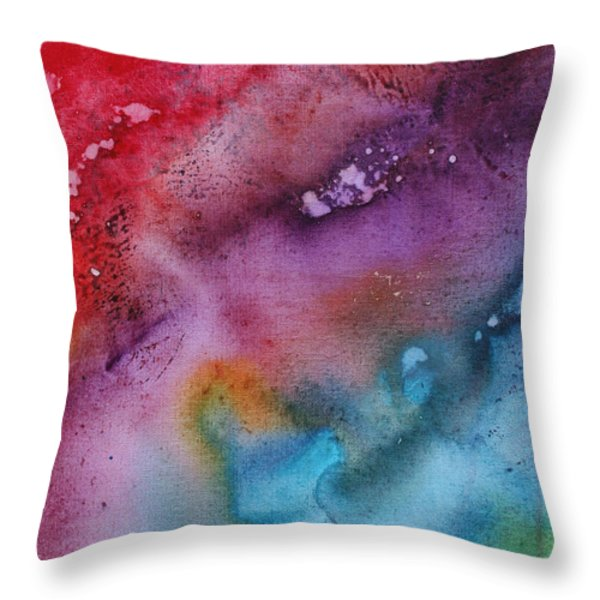 Speak To Me 2 By Madart Throw Pillow by Megan Duncanson