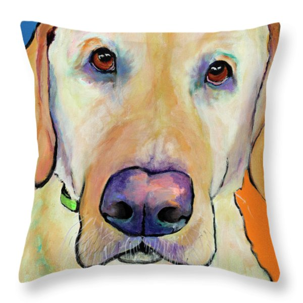 Spenser Throw Pillow by Pat Saunders-White