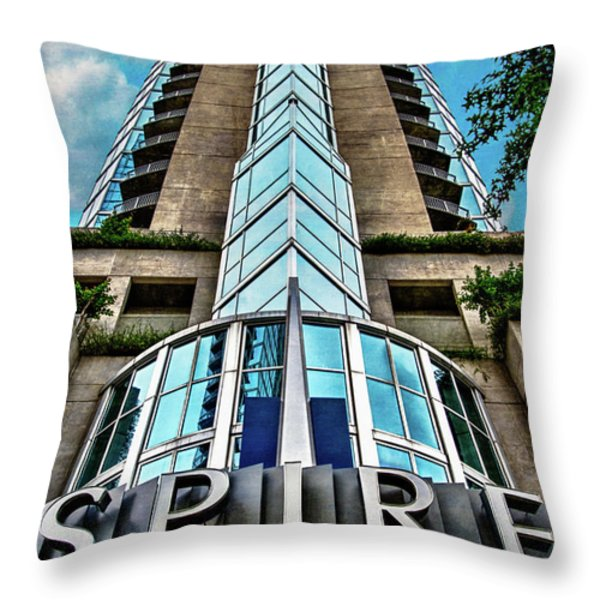Spire Throw Pillow by Doug Sturgess