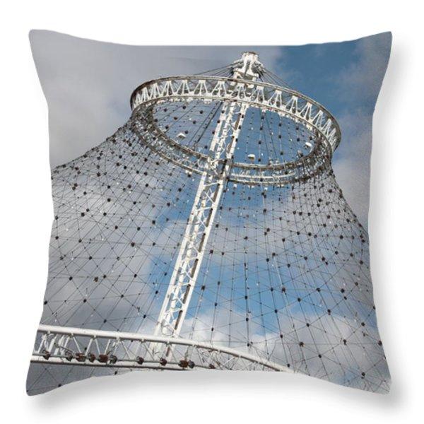 Spokane Pavilion Throw Pillow by Carol Groenen