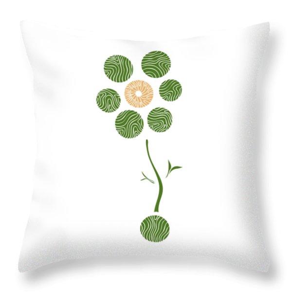 Spring Flower Throw Pillow by Frank Tschakert