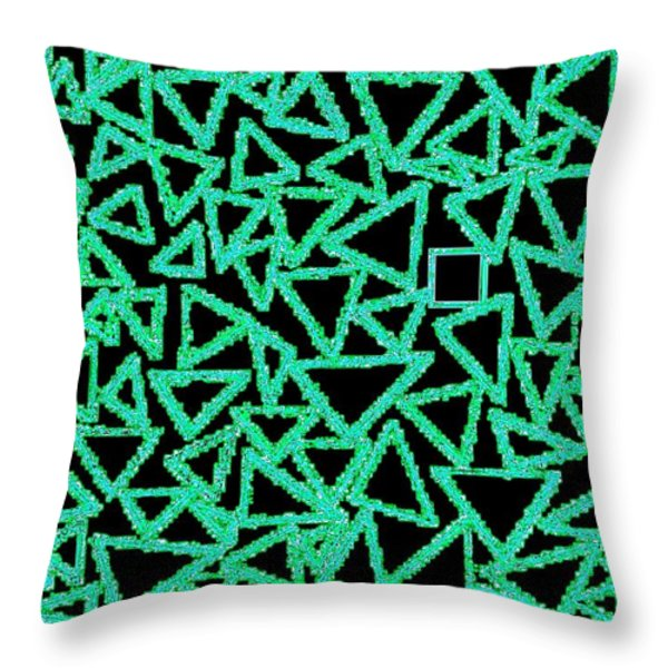 Square One Throw Pillow by Will Borden