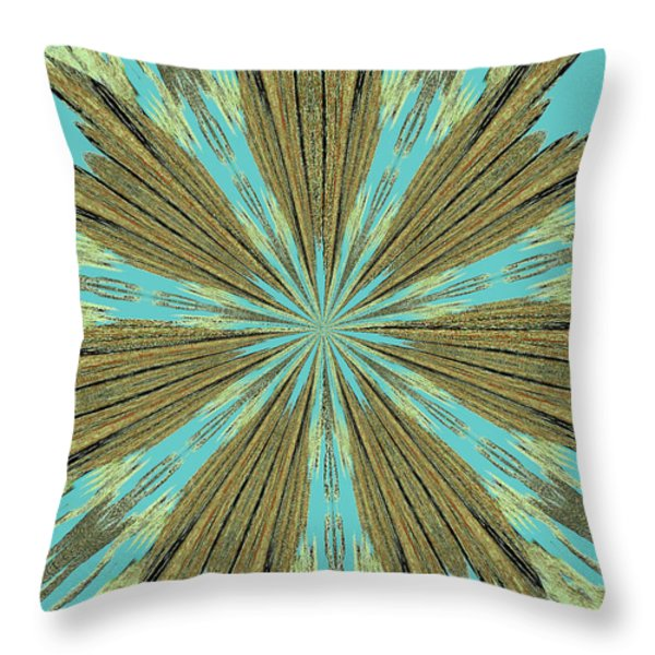Star Bright Throw Pillow by Diana Chason