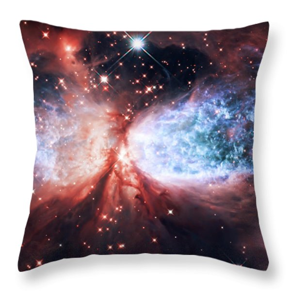 Star Gazer Throw Pillow by The  Vault - Jennifer Rondinelli Reilly