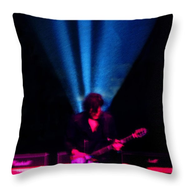 Star Power Throw Pillow by David Lee Thompson