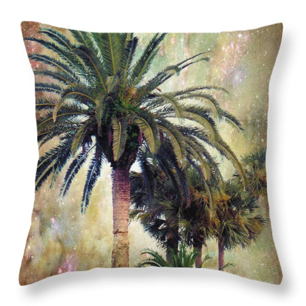 Starry Evening In St. Augustine Throw Pillow by Jan Amiss Photography
