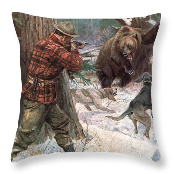 Steady Throw Pillow by JQ Licensing