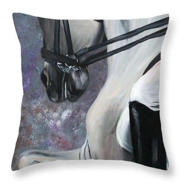 Steppin' Out Throw Pillow by Cher Devereaux