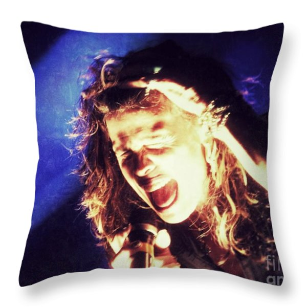 Steven In Color Throw Pillow by Traci Cottingham