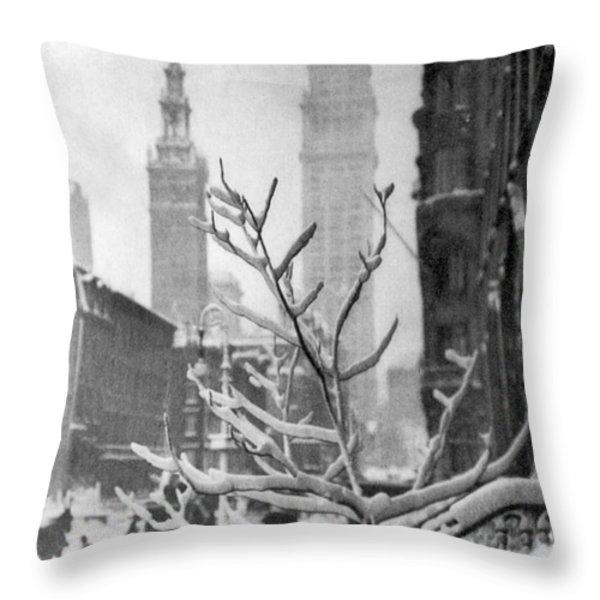 Stieglitz: New York, C1914 Throw Pillow by Granger