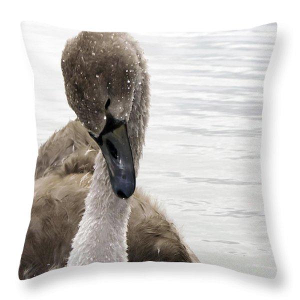 Still a Baby Throw Pillow by Svetlana Sewell