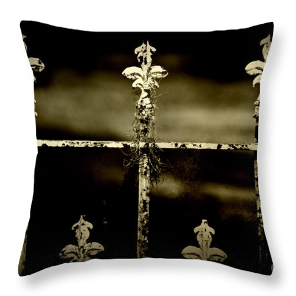 Still Standing Throw Pillow by Scott Pellegrin