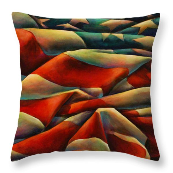 Still There Throw Pillow by Michael Lang