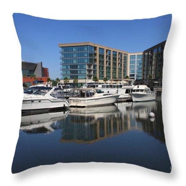 Stockton Waterscape Throw Pillow by Carol Groenen