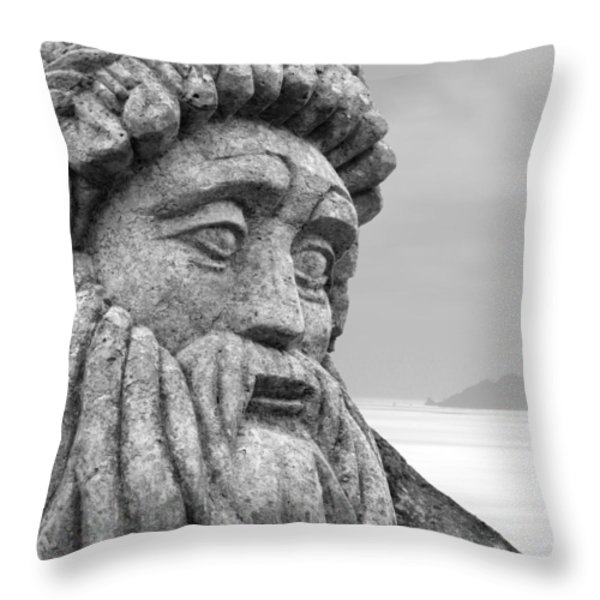 Stoned In Ireland Throw Pillow by Mike McGlothlen