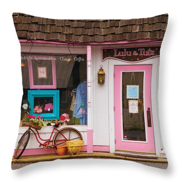 Store - Lulu and Tutz Throw Pillow by Mike Savad