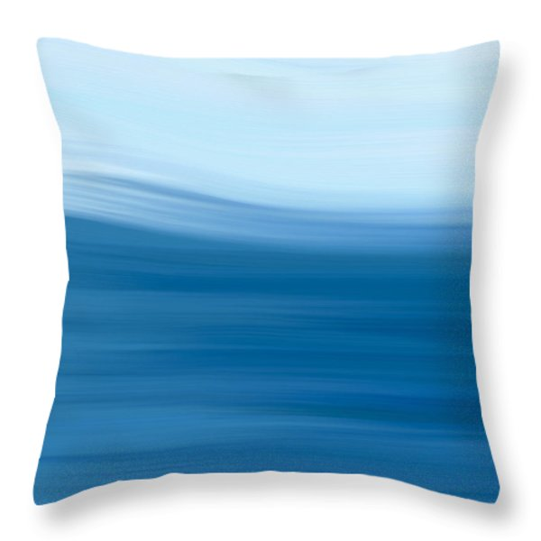 Throw Pillow featuring the painting Storm Day by Frank Tschakert