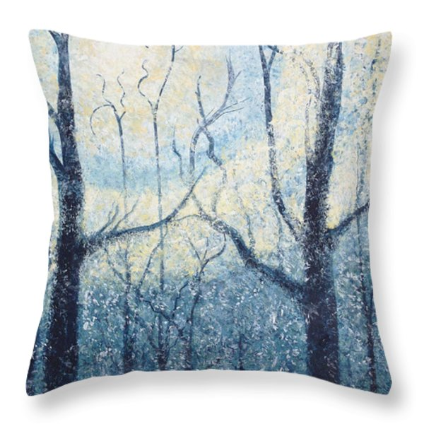 Sublimity Throw Pillow by Holly Carmichael